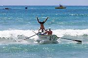 Ocean Festival Dorey Boat Races At The Pier In San Clemente California