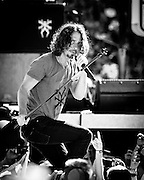 Soundgarden performs at Century Link FIeld to celebrate the kickoff of the 2014 NFL season. Photo by John Lill