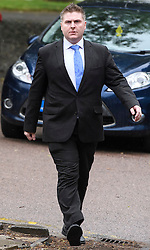 © Licensed to London News Pictures. 31/05/2016. Ampthill, UK. Conservative aide ANDRE WALKER arrives for an inquest into the death of Conservative party activist Elliott Johnson, in Ampthill, Bedfordshire. Mr Johnson was found dead on a railway line in Bedfordshire a few weeks after he raised concerns about the way he had been treated in the Conservative youth wing. Photo credit: Ben Cawthra/LNP