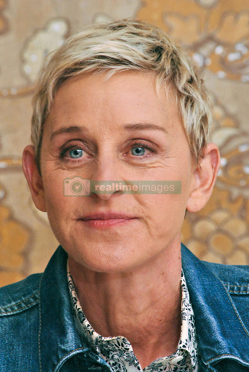 "Ellen Degeneres at the Hollywood Foreign Press Association press conference for ""Finding Dory"" held in Los Angeles, CA on June 09, 2016. (Photo by Yoram Kahana/Shooting Star) *** NO TABLOID PUBLICATIONS *** Please Use Credit from Credit Field ***"