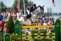 Mathy Delestre Simon, FRA, Filou Carlo Zimequest<br /> Grand Prix Rolex powered by Audi <br /> CSI5* Knokke 2019<br /> © Dirk Caremans<br /> Delestre Simon, FRA, Filou Carlo Zimequest
