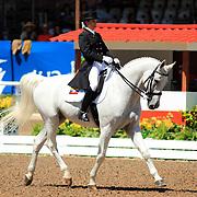 Maria Elvira Montalvo and Navargo at the 2011 Pan American Games in Guadalajara, Mexico.