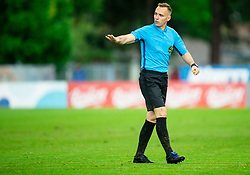 Referee Mihael Antič during football match between NK Triglav Kranj and NK Domzale in 35th Round of Prva liga Telekom Slovenije 2018/19, on May 22nd, 2019, in Sports park Kranj, Slovenia. Photo by Vid Ponikvar / Sportida