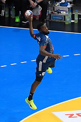 Abalo Luc during 25th IHF men's world championship 2017 match between France and Slovenia at Accord hotel Arena on january 24 2017 in Paris. France. PHOTO: CHRISTOPHE SAIDI / SIPA / Sportida