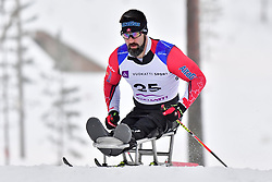 CAMERON Collin, CAN, LW11.5 at the 2018 ParaNordic World Cup Vuokatti in Finland