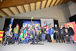 Europa Cup Podiums at the 2016 IPC Snowboard Europa Cup Finals and World Cup