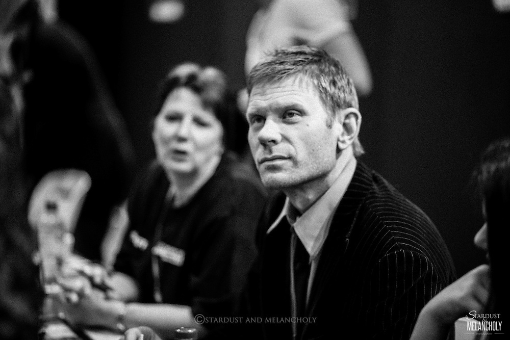 Mark Pellegrino (Supernatural, Lost, Revolution) signing autographs, Armageddon Expo Melbourne, Oct 2012