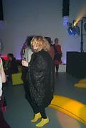 ALISON GOLDFRAPP;, Pop party. the birthday celebration of twin sisters Valeria Napoleone and Stefania Pramma. Studio Voltaire, London SW4. 17 May 2013.