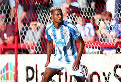 Steve Mounie of Huddersfield Town - Mandatory by-line: Robbie Stephenson/JMP - 12/07/2017 - FOOTBALL - Wham Stadium - Accrington, England - Accrington Stanley v Huddersfield Town - Pre-season friendly