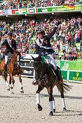 Michael Jung, (GER), Fischerrocana FST won silver in the indvidual Eventing - Alltech FEI World Equestrian Games™ 2014 - Normandy, France.<br /> © Hippo Foto Team - Leanjo De Koster<br /> 31-08-14