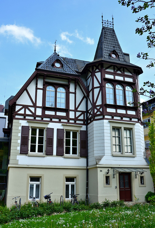 half timbered house in baden baden germany encircle photos. Black Bedroom Furniture Sets. Home Design Ideas