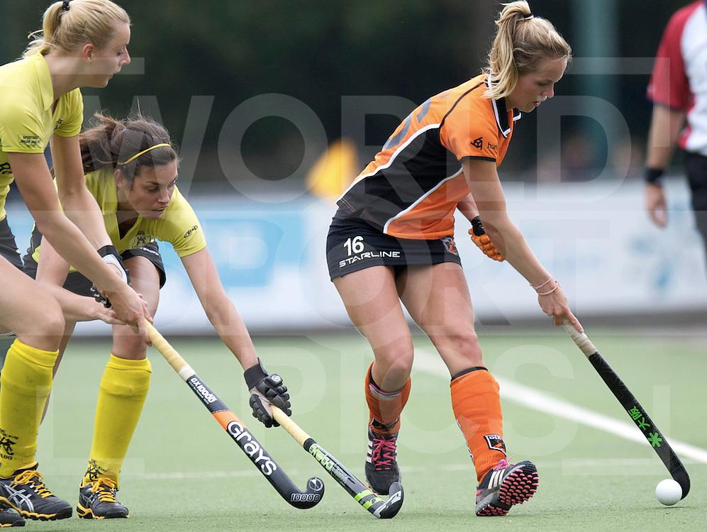 EINDHOVEN - Oranje-Zwart- de Terriers..Hoofdklasse dames.Foto: Charlotte Derkx..FFU PRESS AGENCY COPYRIGHT FRANK UIJLENBROEK.