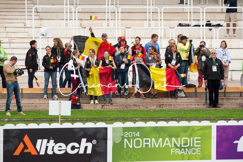 Supporter, BEL - Individual Test Grade IV Para Dressage - Alltech FEI World Equestrian Games™ 2014 - Normandy, France.<br /> © Hippo Foto Team - Jon Stroud <br /> 25/06/14