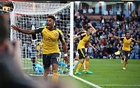 Football - 2016 / 2017 Premier League - Burnley v Arsenal at Turf Moor<br /> <br /> Alex Oxlade-Chamberlain of Arsenal celebrates scoring the winning goal <br /> <br /> <br /> COLORSPORT/LYNNE CAMERON