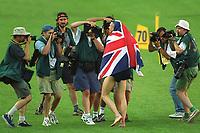 Friidrett. VM 2001 Edmonton. EDWARDS, Jonathan      Grossbritannien<br />               Leichtathletik   WM 2001    Dreisprung