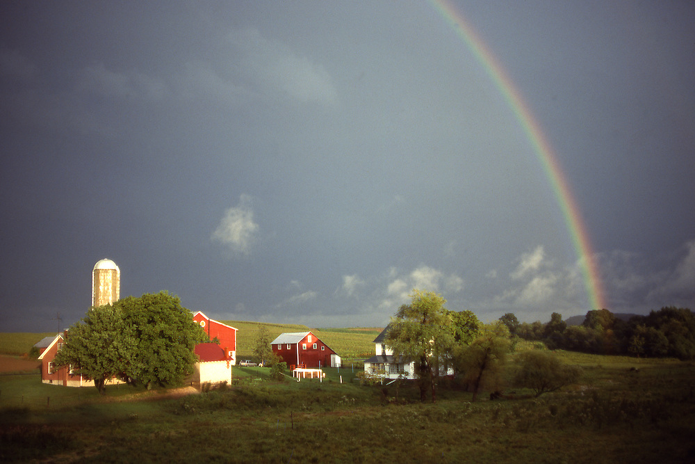 Rainbow, Family Farm, Berks County, Pennsylvania