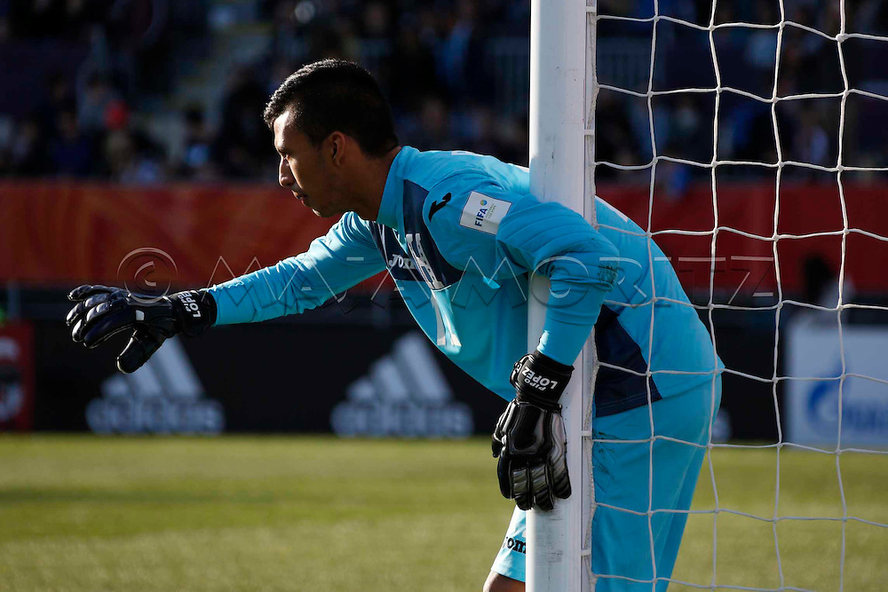 FIFA U20 World Cup New Zealand 2015, 07 June 2015, Christchurch, Honduras - Germanyi, 1:5, Group match, Group F, Goalkeeper Roberto LOPEZ (HON)