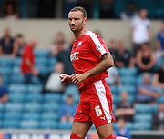Chesterfield player Ian Evatt during the Sky Bet League 1 match between Millwall and Chesterfield at The Den, London, England on 29 August 2015. Photo by Bennett Dean.