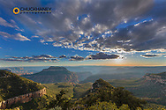 Dramatic view from North Timp Point in Grand Canyon National Park, Arizona, USA