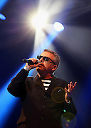Suggs of Madness performs live on the main stage during day two of the On Blackheath Festival at Blackheath Common on September 13, 2015 in London, England.  (Photo by Simone Joyner)