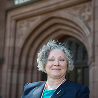 Mount Holyoke College alumna Maria Mossaides on campus, S. Hadley, 9/17/16.