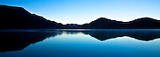 Green Lake Panoramic, Fiordland, New Zealand (12x33-inch)