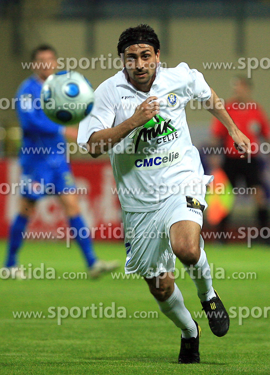 Lisandro Sacripanti at 30th Round of Slovenian First League football match between NK Domzale and NK MIK CM Celje in Sports park Domzale, on April 25, 2009, in Domzale, Slovenia. Celje won 3:0. (Photo by Vid Ponikvar / Sportida)