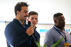 Q&A with Will Butler and Marco Mama of Worcester Warriors - Mandatory by-line: Robbie Stephenson/JMP - 30/11/2019 - RUGBY - Sixways Stadium - Worcester, England - Worcester Warriors v Sale Sharks - Gallagher Premiership Rugby