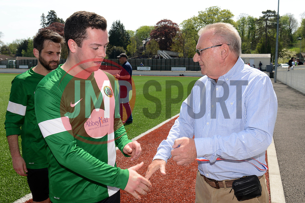 Joe Hedger of SWYD United - Mandatory by-line: Dougie Allward/JMP - 08/05/2016 - FOOTBALL - Keynsham FC - Bristol, England - BAWA Sports v SWYD United - Presidents cup final