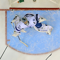 10 December 2013:  Tampa Bay Lightning goalie Ben Bishop (30) in action against the Washington Capitals at the Verizon Center in Washington, D.C. where the Washington Capitals defeated the Tampa Bay Lightning, 6-5 in a shoot out.