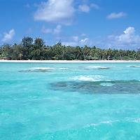 French Polynesia Rangiroa Atoll Tuamotu Archipelago, Kia Ora Sauvage Hotel on this island