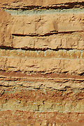 Israel, Negev plains, Rock formation