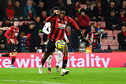 Jefferson Lerma (8) of AFC Bournemouth during the Premier League match between Bournemouth and Liverpool at the Vitality Stadium, Bournemouth, England on 7 December 2019.