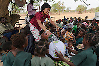 Sasha Kasthuriarachchi at the Chisila Community School supported by PEPAIDS, St Mary's, Monze, Zambia. PEPAIDS is a UK-based NGO whose mission is to promote and preserve the health of people in Zambia through the provision of support for HIV/AIDS initiatives and the promotion of awareness of issues surrounding HIV/AIDS. PEPAIDS' local partner NGO is SAPEP, based in the Monze and Mazabuka districts of the Southern Province of Zambia. They work together to empower the rural youth of Zambia to mobilise their communities to fight poverty and HIV/AIDS. SAPEP works with a large number of AIDS Action clubs (AACs) who are trained by SAPEP project staff in subjects such as peer education approaches; gender, customs and traditions; antiretroviral therapy; and counselling. This training empowers the AACs to support the communities in which they are based in the fight against HIV and AIDS. SAPEP encourages AACs to start income generating activities with the goal of being self-reliant and self-sufficient in their mission to alleviate HIV and AIDS. PEPAIDS has designed its training programme to form a cascade in order to reach as many people as possible. Peer educators participate in Training of Trainers workshops, with skills being passed on to club leaders and club members in turn to benefit the wider community. The entire programme is designed to be sustainable, youth-focused, participatory and culturally acceptable.