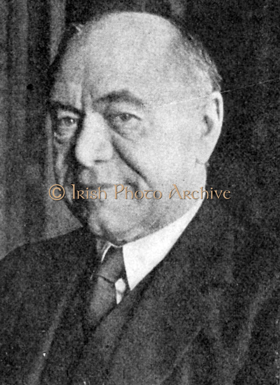 Max Aitken, lst Baron Beaverbrook (1879-1964) Canadian-born British press baron, business tycoon,  and writer. Appointed to wartime Cabinet by Winston Churchill in May 1940 as Minister of Aircraft Production.