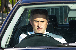 © Licensed to London News Pictures. 23/05/2019. London, UK. Former Defence Secretary Gavin Williamson is seen leaving Parliament by car. Photo credit: Rob Pinney/LNP