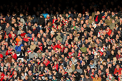 Bristol City fans - Rogan Thomson/JMP - 22/10/2016 - FOOTBALL - Ashton Gate Stadium - Bristol, England - Bristol City v Blackburn Rovers - Sky Bet EFL Championship.