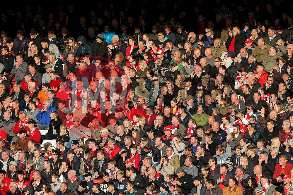 Bristol City fans - Rogan Thomson/JMP - 22/10/2016 - FOOTBALL - Ashton Gate Stadium - Bristol, England - Bristol City v Blackburn Rovers - Sky Bet EFL Championship.