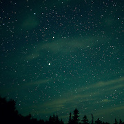 The stars at Acadia National Park, Maine. Taken on top of Cadillac Mountain. Acadia National Park