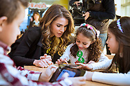 Queen Rania Attends Childhood Education Launch