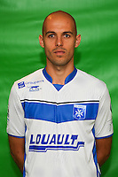 Remi Fournier of Auxerre during Auxerre squad photo call for the 2016-2017 Ligue 2 season on September, 7 2016 in Auxerre, France ( Photo by Andre Ferreira / Icon Sport )