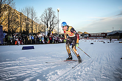20.12.2014, Nordische Arena, Ramsau, AUT, FIS Nordische Kombination Weltcup, Staffel Langlauf, im Bild Tino Edelmann (GER) // during Cross Country of FIS Nordic Combined World Cup, at the Nordic Arena in Ramsau, Austria on 2014/12/20. EXPA Pictures © 2014, EXPA/ Martin Huber