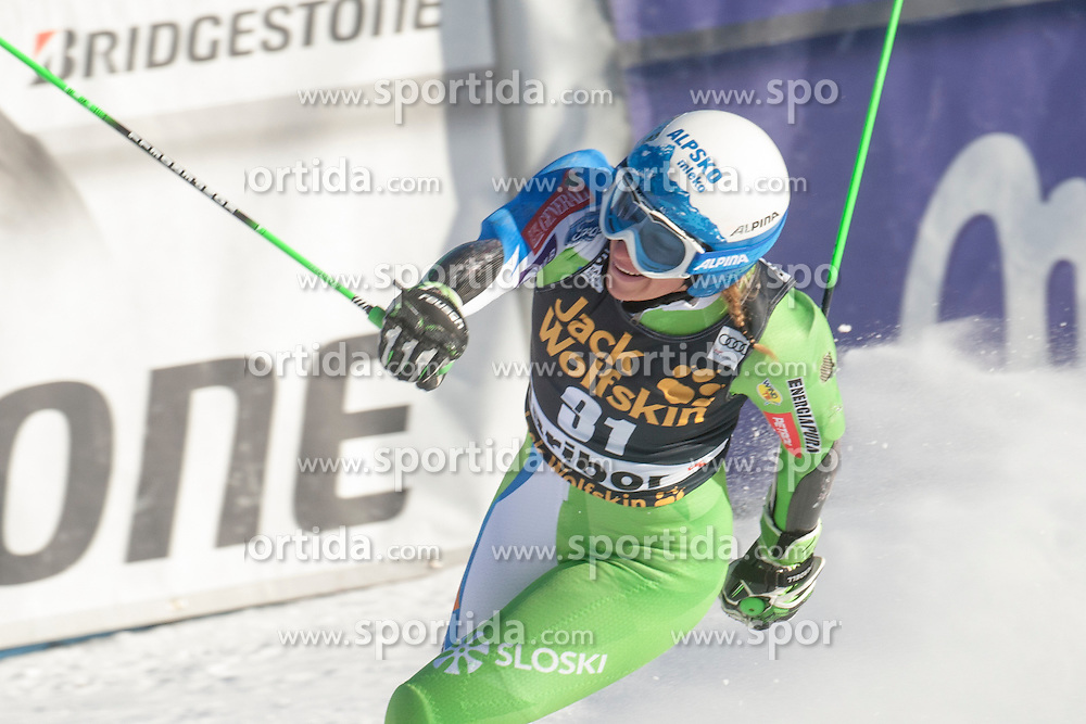 during 6th Ladies' Giant slalom at 53rd Golden Fox - Maribor of Audi FIS Ski World Cup 2015/16, on January 7, 2017 in Pohorje, Maribor, Slovenia. Photo by Marko Vanovsek / Sportida