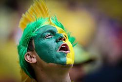 Torcida Brasileira na partida entre Brasil x Camarões, válida pela fase de grupos da Copa do Mundo 2014, no Estádio Mané Garrincha, em Brasíia. FOTO: Jefferson Bernardes/ Agência Preview