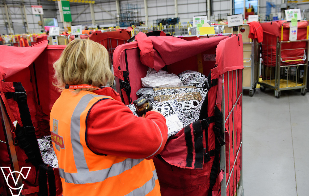 Stock / generic photographs taken at the Royal Mail's Yorkshire Distribution Centre, Normanton. <br /> <br /> Mail order returns <br /> <br /> Picture: Chris Vaughan Photography<br /> Date: November 15, 2016