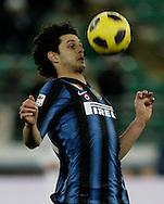 Bari (BA), 03-02-2011 ITALY - Italian Soccer Championship Day 23 - Bari VS Inter..Pictured:Ranocchia (I).Photo by Giovanni Marino/OTNPhotos . Obligatory Credit