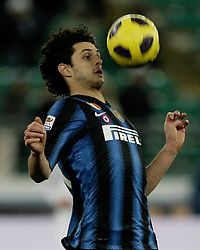 Bari (BA), 03-02-2011 ITALY - Italian Soccer Championship Day 23 - Bari VS Inter..Pictured:Ranocchia (I).Photo by Giovanni Marino/OTNPhotos . Obligatory Credit