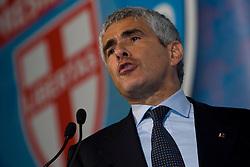 Potenza/Basilicata/Italy 27-03-08 - Pier Ferdinando Casini - Leader UDC
