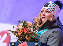 27.02.2018, Salzburg, AUT, PyeongChang 2018, ÖOC Medaillenfeier, im Bild Katharina Gallhuber // during a ÖOC medal celebration Party after the Olympic Winter Games Pyeongchang 2018 in Salzburg, Austria on 2018/02/27. EXPA Pictures © 2018, PhotoCredit: EXPA/ JFK