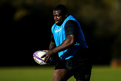 Biyi Alo of Wasps during training ahead of the European Challenge Cup fixture against SU Agen - Mandatory by-line: Robbie Stephenson/JMP - 18/11/2019 - RUGBY - Broadstreet Rugby Football Club - Coventry , Warwickshire - Wasps Training Session